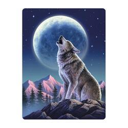 Pohlednice 3D 16cm - vlk (25)