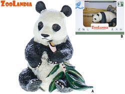 Zoolandia panda 6,5-10cm 2druhy v krabičce
