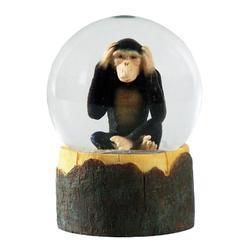 Sněžítko 9cm - opice(12ks/bal)