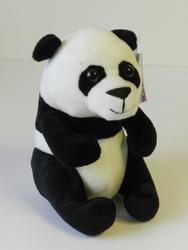 Panda sedící plyš 20cm(6ks/bal)