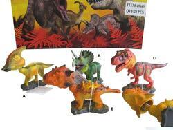 Dinosaurus s kývající hlavou 11cm, 4dr - 1