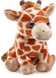 Žirafa sedící plyš 25cm(6ks/bal)