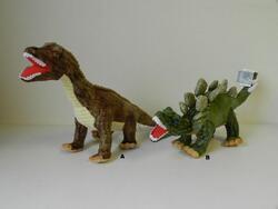 Dinosaurus plyš 50-60cm, 2druhy