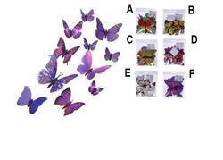 Magnet motýl 12ks