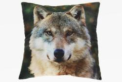 Polštářek 35x35cm vlk (6)