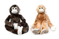 Opice dlouhé ruce plyš 80cm, suchý zip, 2dr (2)
