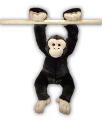 Šimpanz plyš závěsný 33cm