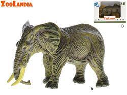 Zoolandia nosorožec/slon 11-14cm v krabičce