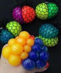 Míček v síťce dvoubarevný (12)