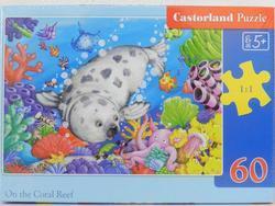 Puzzle tuleň 60dílků