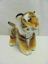 Tygr hnědý plyš 18cm (144/karton)
