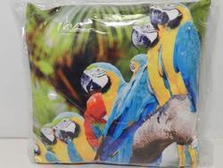 Polštářek 33cm papoušci