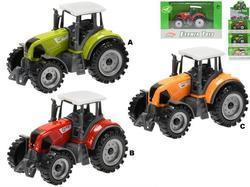 Traktor kov 9,5cm, volný chod, 3dr (12)