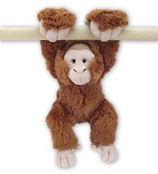 Orangutan plyš závěsné ruce 29cm