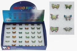 Prstýnek nálady motýl, 5druhů (36)