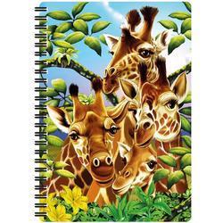 Notes 3D 14x21cm - žirafy