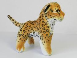 Leopard hnědý plyš 18cm (144/karton)