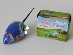 Myš natahovací kovová RETRO 7x4,5cm 60ks/bal