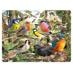 Pohlednice 3D 16cm - ptáčci (25)