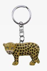 Přívěšek dřevo - leopard (6)