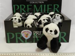 Panda plyš 12cm