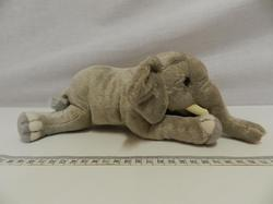 Slon plyš 23cm měkký, ležící
