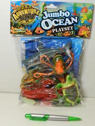 Zvířátka oceán plast v sáčku(12ks/bal)