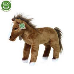 Kůň stojící plyš 32cm ECO