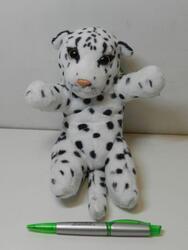Sněžný leopard na zádech 20cm (130/karton) - 1