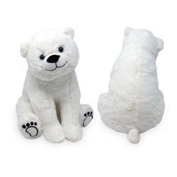 Lední medvěd sedící plyš 25cm