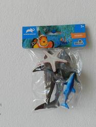 Zvířátka mořská 5ks 11,3cm (48ks/bal)