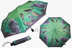 Deštník skládací 29cm - sova (12)