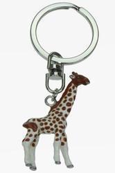 Přívěšek žirafa kov barevný(12)