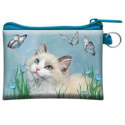 Kapsička 3D 11x8cm - kočka s motýly (5)