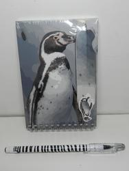 Notes tučňák+pero s magnetem, 20cm(12)