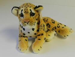 Leopard ležící bokem 30cm