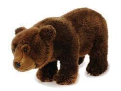 Medvěd plyš 33x16x18cm