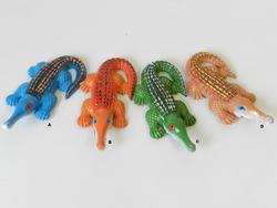 Magnet krokodýl 10cm, 4dr