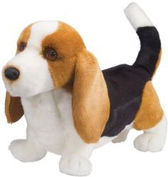 Pes baset plyš 35cm