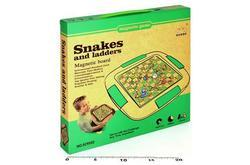 Hadi a žebříky - magnetická hra