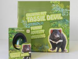 Vejce rostoucí tasmánský čert 6,5cm (12)