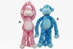 Opice závěsná na suchý zip, plyš 36cm, 2druhy