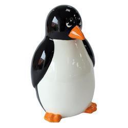 Pokladnička keramika - tučňák 14cm