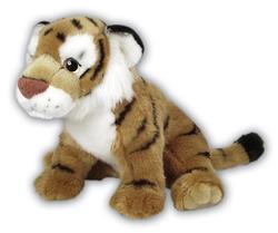 Tygr hnědý plyš 35cm