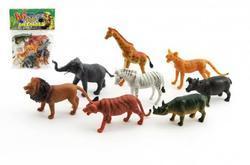 Zvířátka safari plast set 8ks v sáčku (12)