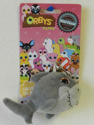 Klíčenka žralok plyš 8cm, velké oči