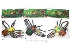 Pavouci set 3ks v sáčku 28cm, 3druhy(24)