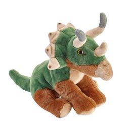 Triceratops sedící, plyš 25cm