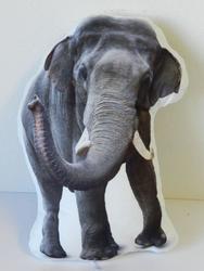 Polštářek 34x30cm slon