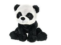Panda sedící plyš 19cm